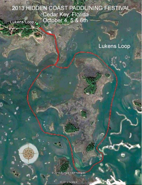 Lukens Loop Trail Map