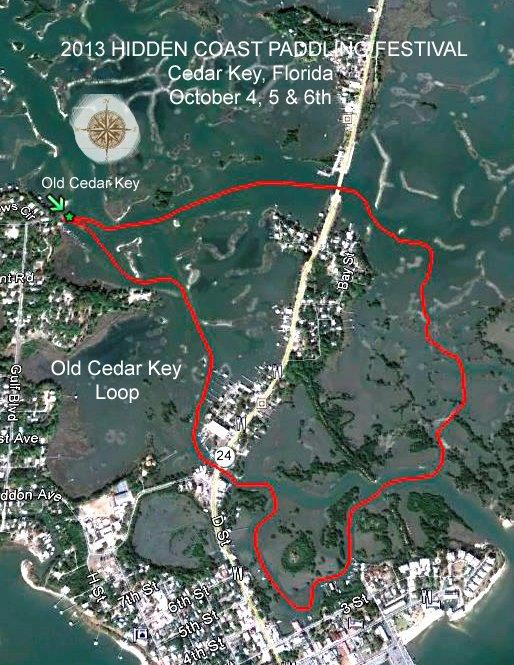 Old Cedar Key Trail Map