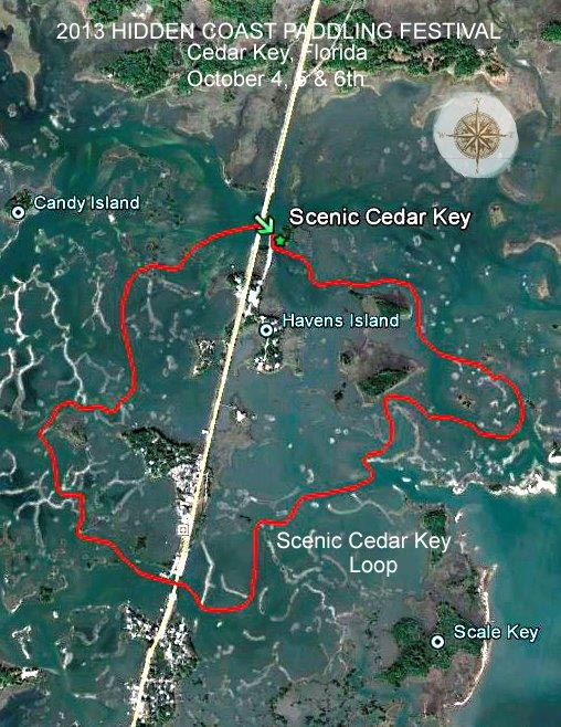 Scenic Cedar Key Trail Map