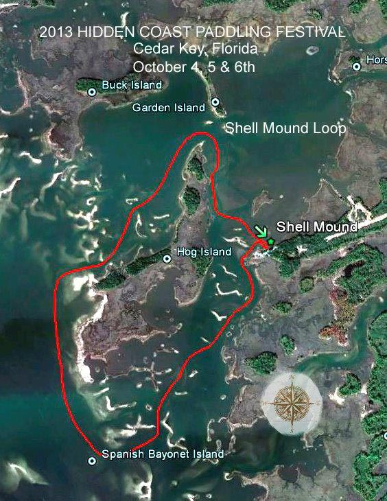 Shell Mound Trail Map